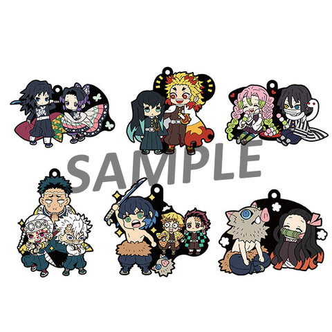 Rubber Mascots Buddy-Colle: Demon Slayer: Kimetsu no Yaiba Vol.2 (Resale)
