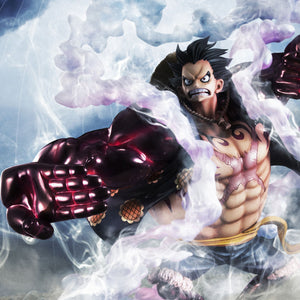 "Portrait.Of.Pirates ONE PIECE ""SA-MAXIMUM"" Monkey D. Luffy Gear Four ""Boundman"""
