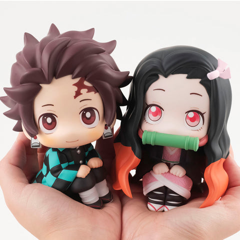look up: Demon Slayer: Kimetsu no Yaiba - Tanjiro Kamado & Nezuko Kamado Set