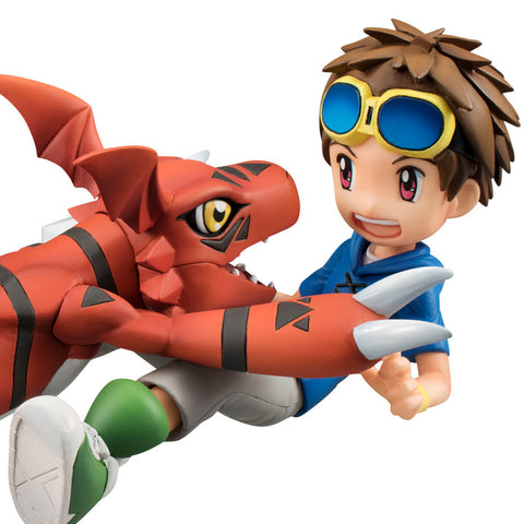 G.E.M Series: Digimon Tamers - Guilmon & Takato Matsuda (Resale)
