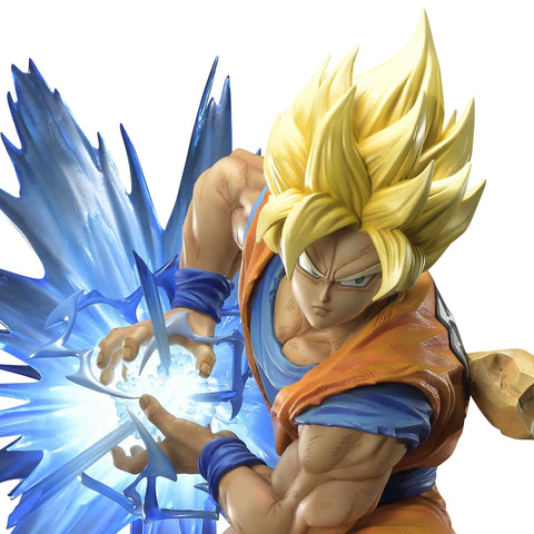Prime 1 Studio x MegaHouse Mega Premium Collectible: Dragon Ball Z - Son Goku (Super Saiyan)