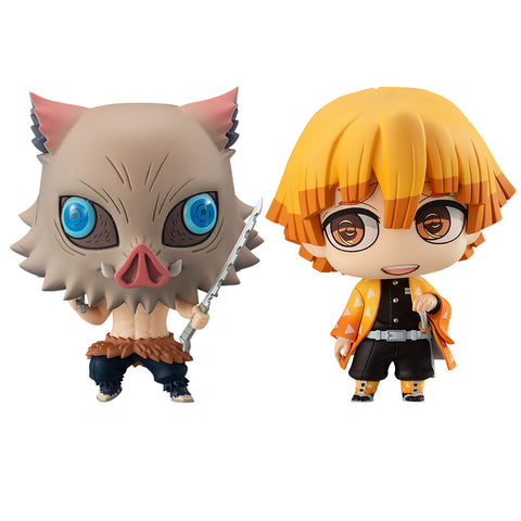 ChimiMega Buddy Series!: Demon Slayer: Kimetsu no Yaiba - Zenitsu Agatsuma & Inosuke Hashibira Set