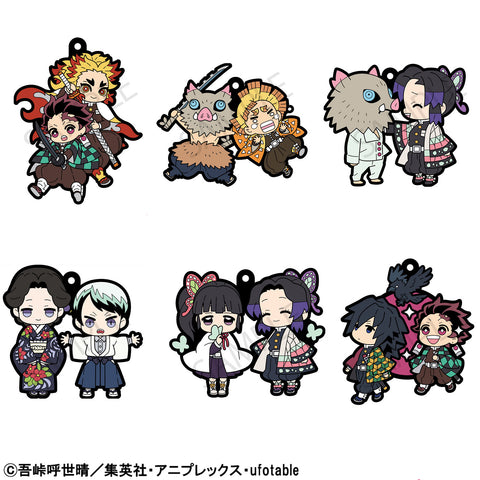 Rubber Mascots Buddy-Colle: Demon Slayer: Kimetsu no Yaiba Vol.4