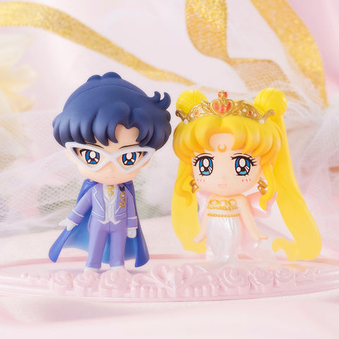 Petit Chara! Pretty Guardian Sailor Moon - Neo-Queen Serenity & King Endymion