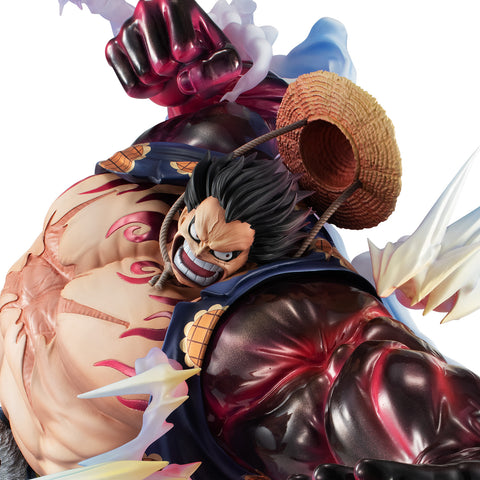 "Portrait.Of.Pirates ONE PIECE ""SA-MAXIMUM"" Monkey D. Luffy Gear Four ""Boundman"" Ver.2"