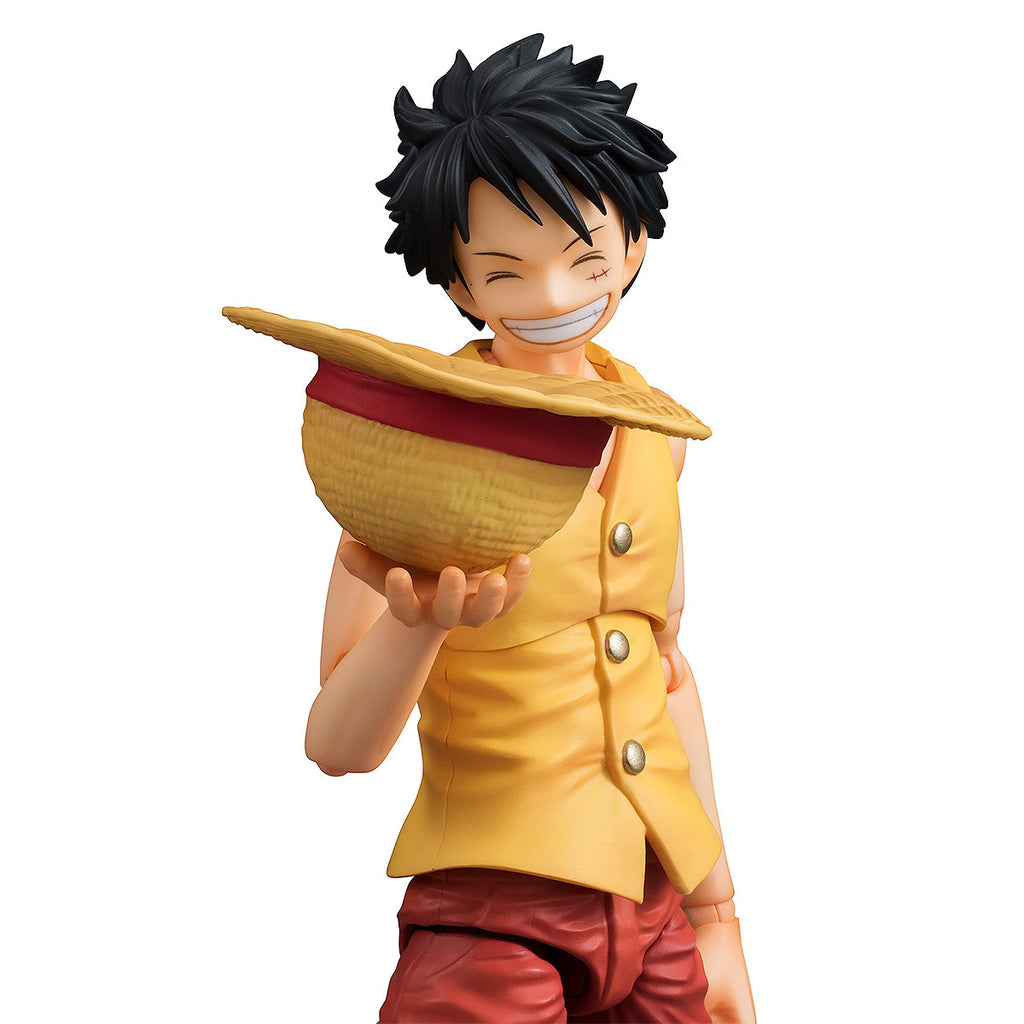 Variable Action Heroes One Piece Monkey D Luffy Past Blue Yellow Ver