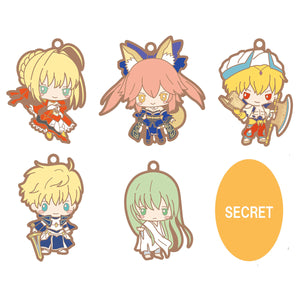 Rubber Mascot: Fate/Grand Order Design produced by Sanrio (Set #3)