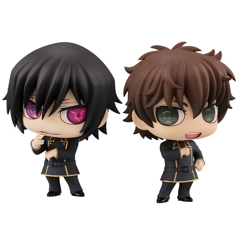 ChimiMega Buddy Series!: Code Geass: Lelouch of the Rebellion - Lelouch Vi Britannia & Suzaku Kururugi Set