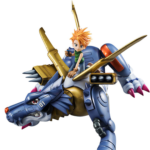 Precious G.E.M. Series: Digimon Adventure - MetalGarurumon and Yamato Ishida (Resale)