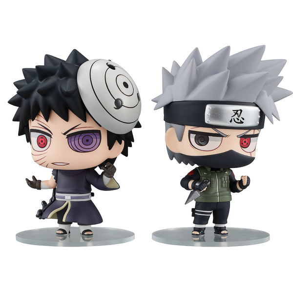ChimiMega Buddy Series!: Naruto Shippuden - Kakashi Hatake & Uchiha Obito Shinobi World War Set