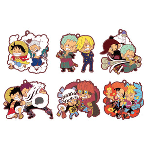 Rubber Mascots Buddy-Colle: ONE PIECE Log.1