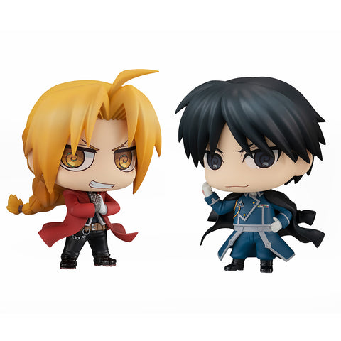 ChimiMega Buddy Series!: Fullmetal Alchemist Brotherhood - Edward Elric & Roy Mustang Set