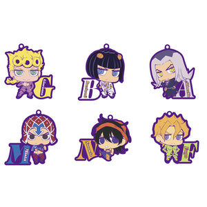Rubber Mascots: JoJo's Bizarre Adventure Golden Wind - Team Bucciarati
