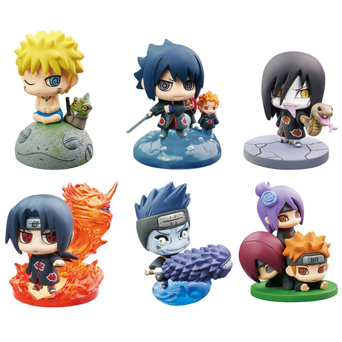 Petit Chara Land: Naruto Shippuden - Summoning Technique! Naruto & Akatsuki #2 (Resale)