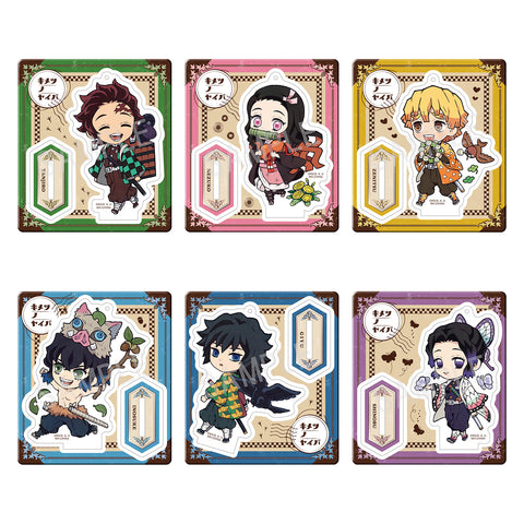 Retro Acrylic Stand: Demon Slayer: Kimetsu no Yaiba - Outing Ver.
