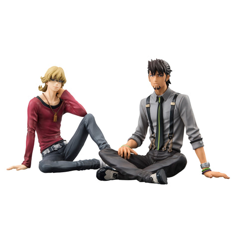 PALMATE EXTRA Series: TIGER & BUNNY the Movie -The Rising- Kotetsu & Barnaby Set