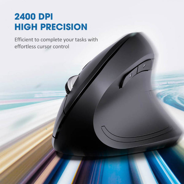 Teddith Wireless Right-Handed Ergonomic Mouse