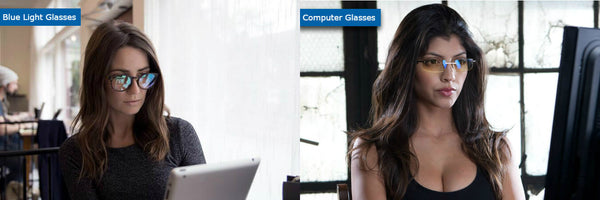 Computer glasses vs blue light blocking glasses