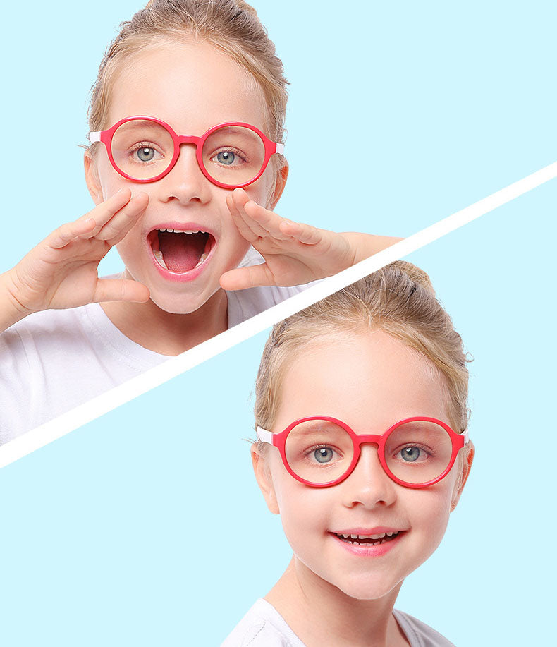 Blue Light Blocking Computer Screen Reading Glasses for Kids Ages [3-9] - Veronica - Teddith - US