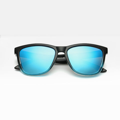 Polarized Sunglasses for Men/Women Gradient Wayfarer Frame - Blue - Teddith Blue Light Glasses for Computer Gaming Anti Glare Reduce Eye Strain Screen Glasses