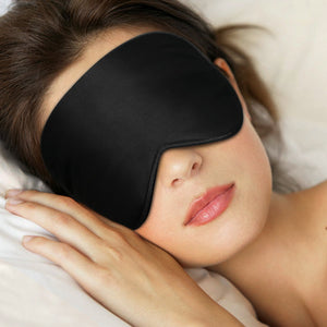 100% Natural Silk Sleep Mask Blindfold Ultra Soft Eye Mask - Blue Light Blocking Glasses Computer Gaming Reading Anti Glare Reduce Eye Strain Screen Glasses by Teddith