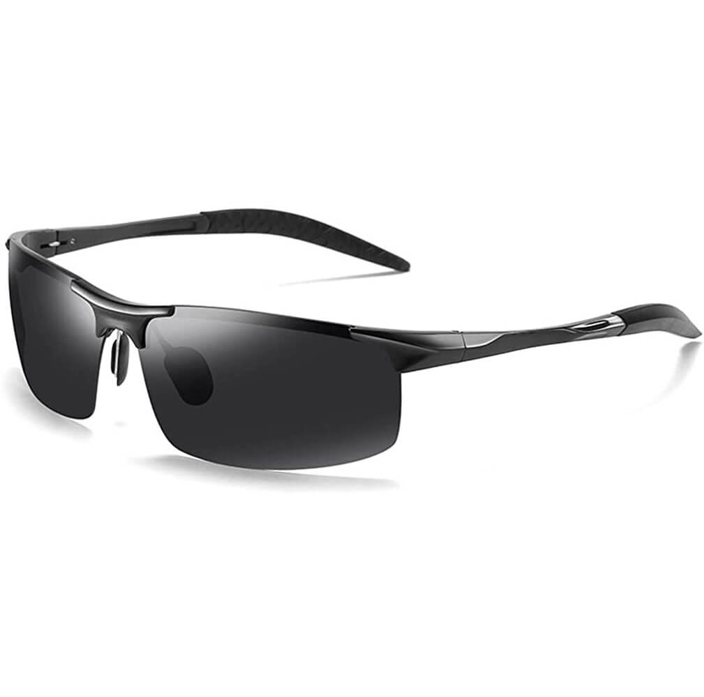 Blade Sport Polarized Sunglasses - Blue Light Blocking Glasses Computer Gaming Reading Anti Glare Reduce Eye Strain Screen Glasses by Teddith