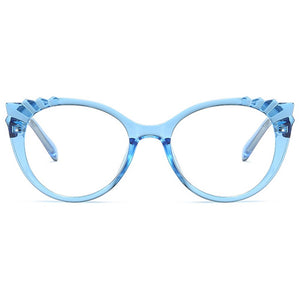 Blue Light Glasses for Computer Reading Gaming - Ella - Blue Light Blocking Glasses Computer Gaming Reading Anti Glare Reduce Eye Strain Screen Glasses by Teddith