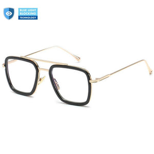 Blue Light Blocking Glasses for Avengers Women / Men - Edith - Blue Light Blocking Glasses Computer Gaming Reading Anti Glare Reduce Eye Strain Screen Glasses by Teddith