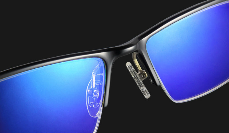 Blue Light Blocker Gaming Glasses - Blue Light Blocking Glasses Computer Gaming Reading Anti Glare Reduce Eye Strain Screen Glasses by Teddith