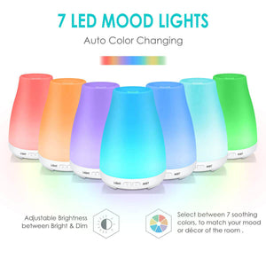 Essential Oil Diffuser for Sleep Colds Cough Headache Humidifier - Teddith - US