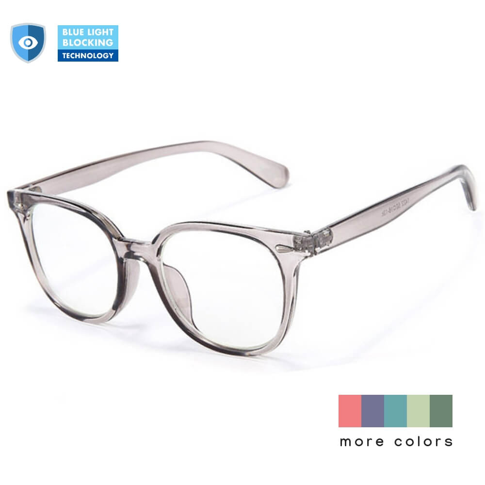Blue Light Blocking Glasses for Computer Gaming Square Frame - Teddith Blue Light Glasses Computer Glasses Gaming Reading Glasses Anti Glare Reduce Eye Strain Screen Glasses