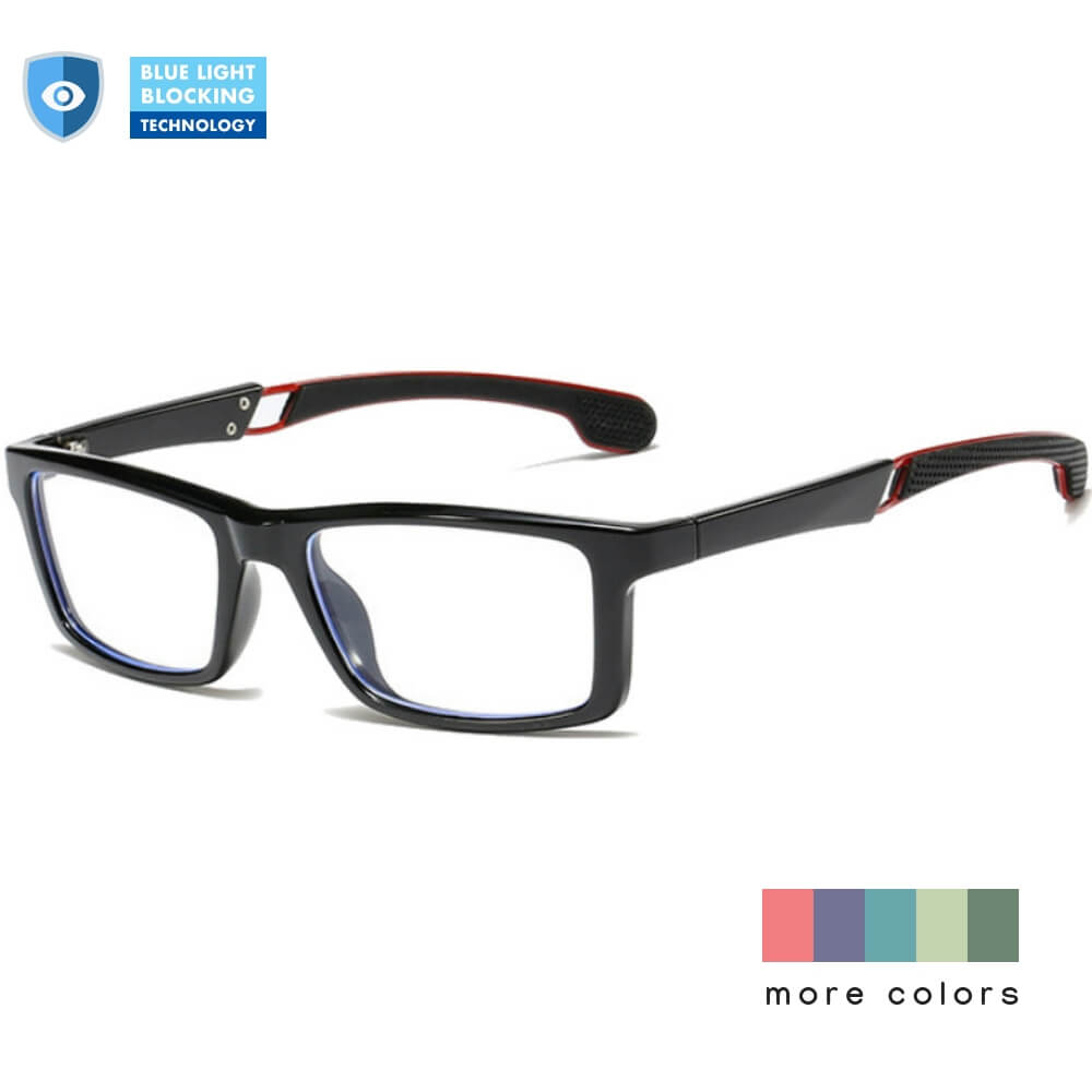 Blue Light Blocking Glasses for Computer - Smokey - Teddith - US