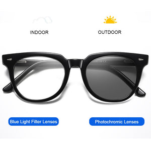 Photochromic Blue Light Blocking Glasses - Rey - Teddith - US