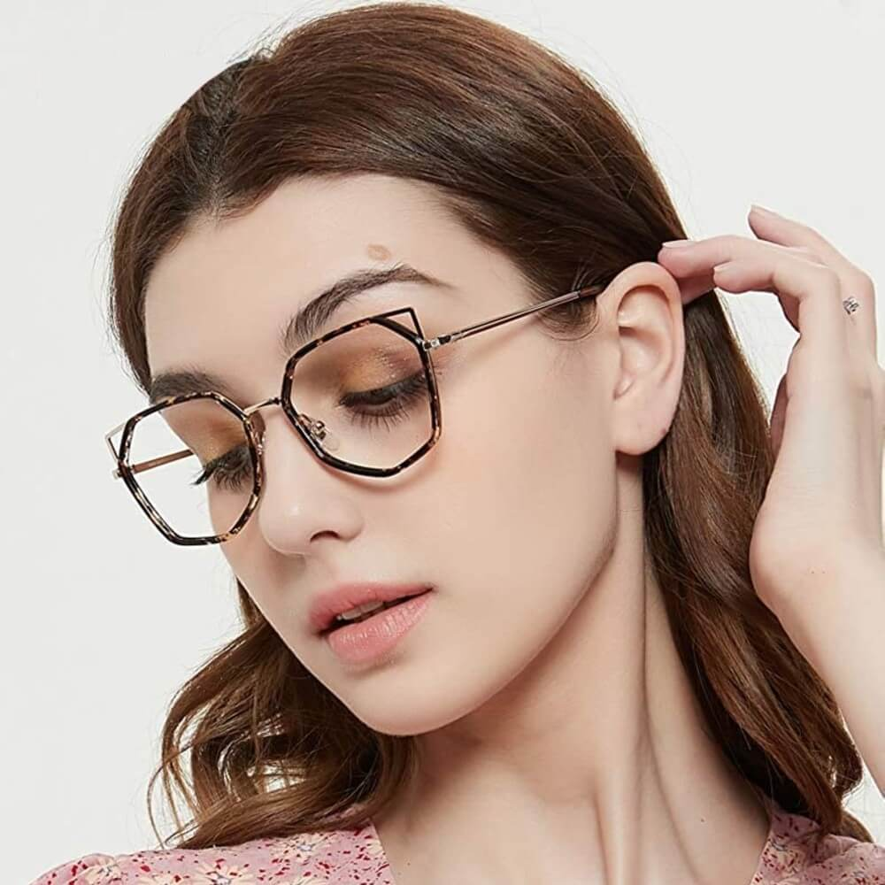 Blue Light Blocking Computer Glasses for Women - Leah - Key Eyewear