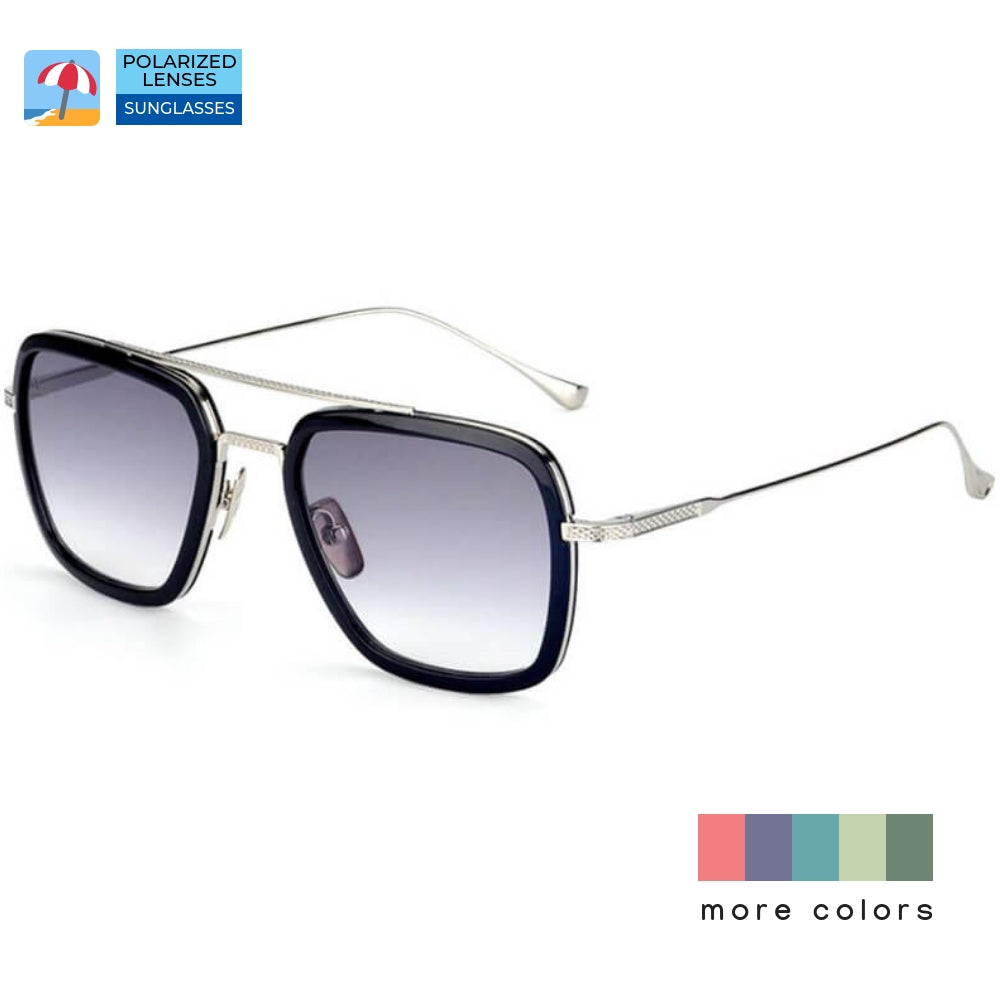 Polarized Sunglasses for Avengers Women / Men - Edith - Blue Light Blocking Glasses Computer Gaming Reading Anti Glare Reduce Eye Strain Screen Glasses by Teddith