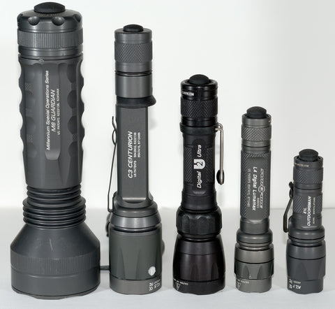 Flashlights, Lanterns and Tactical Lights