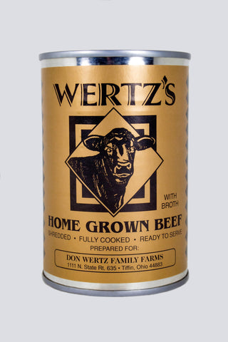 Wertz's Canned Meats - Antibiotic and Hormone Free, Non-GMO