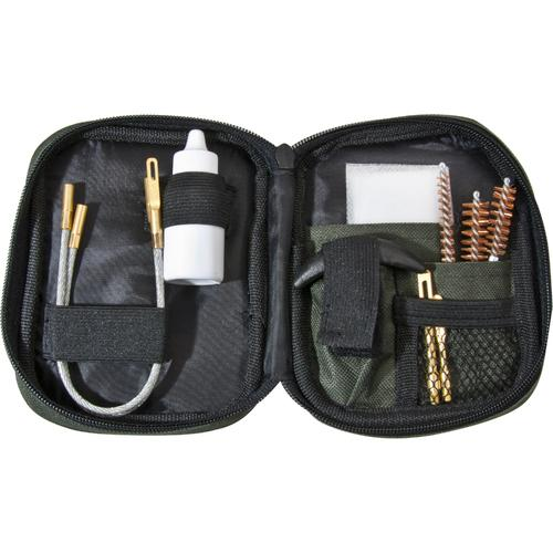 Barska Pistol Cleaning Kit with Flexible Rod & Pouch