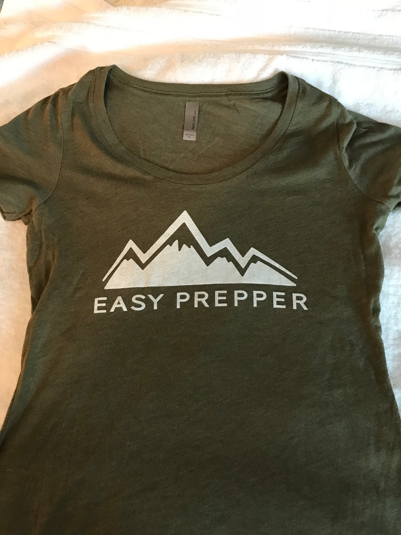 Ladies scooped neck t-shirt from Easyprepper