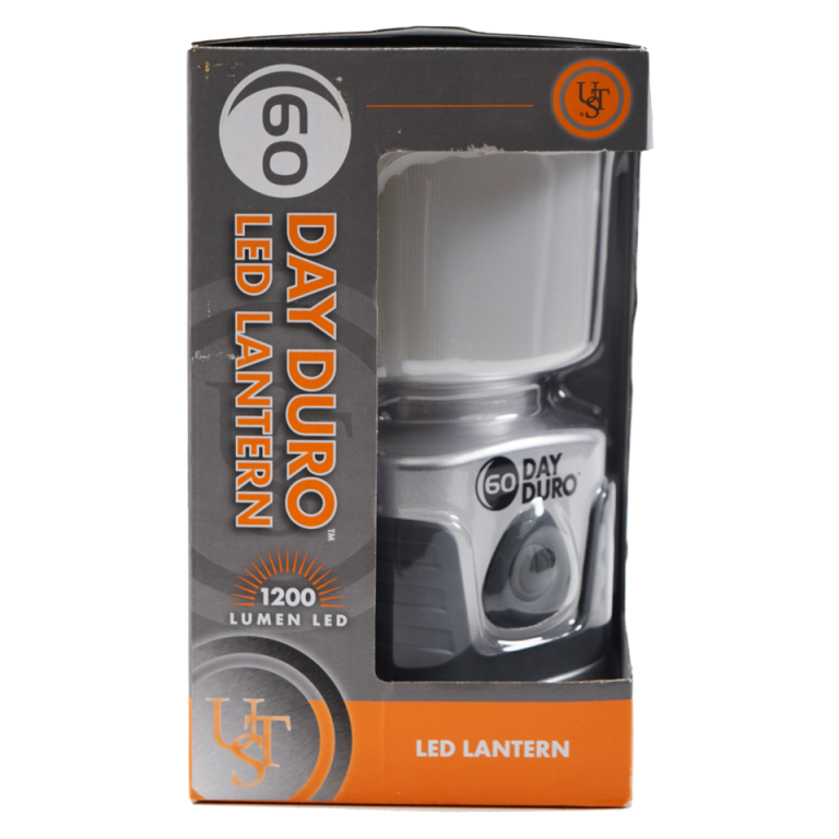 UST 60 Day Lantern up to 1200 Lumens in Titanium