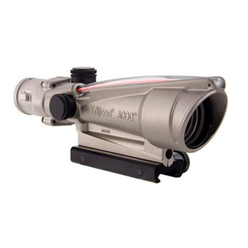 ACOG 3.5x35mm Dual Illuminated Scope - Red Horseshoe Dot .223 Ballistic Reticle, Nickel Boron
