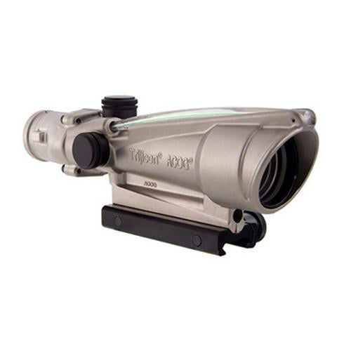 ACOG 3.5x35mm Dual Illuminated Scope - Green Crosshair .223 Ballistic Reticle, Nickel Boron