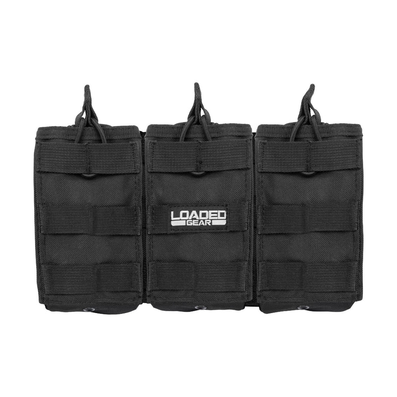 Barska Loaded Gear Triple Magazine Pouch - CX-200, Black