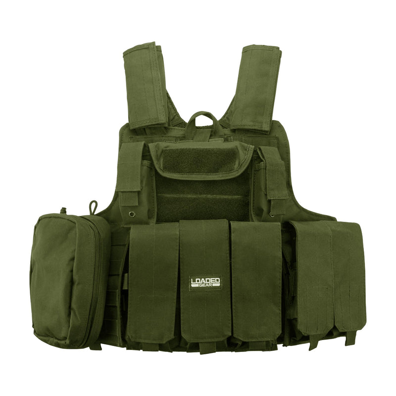 Barska Loaded Gear Tactical Vest - VX-300, Green