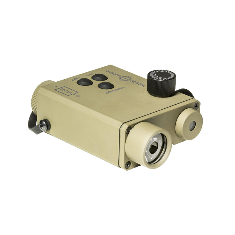 LoPro Green Laser Designator - with Flashlight