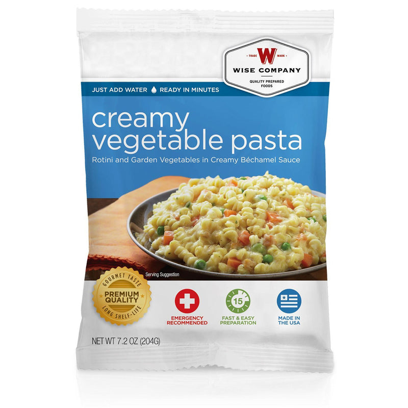 Wise Entree Dish - Creamy Pasta and Vegetable Rotini, 4 Servings