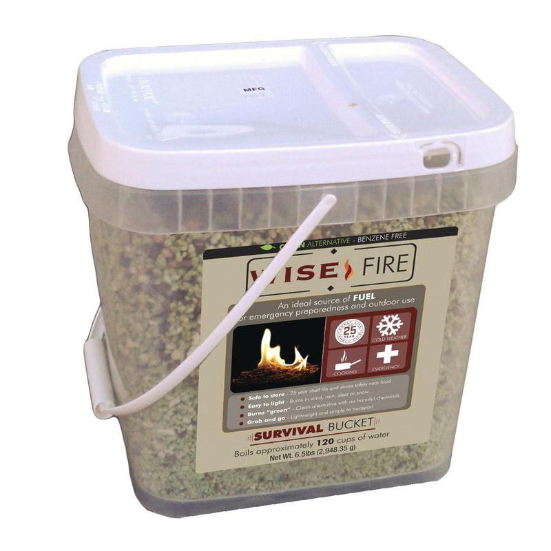 Wise Fuel Source - 2 Gallon Bucket, 120 Cups