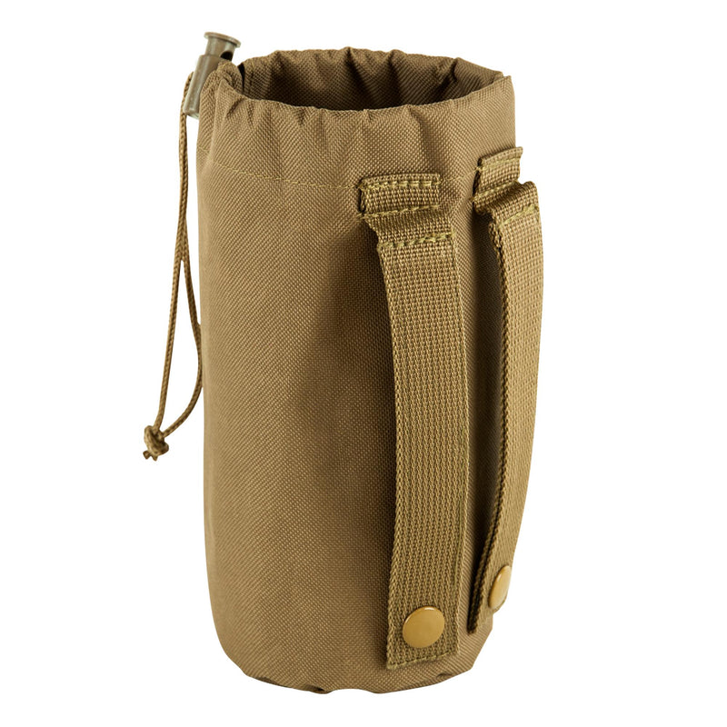 Molle Water Bottle Pouch - Tan
