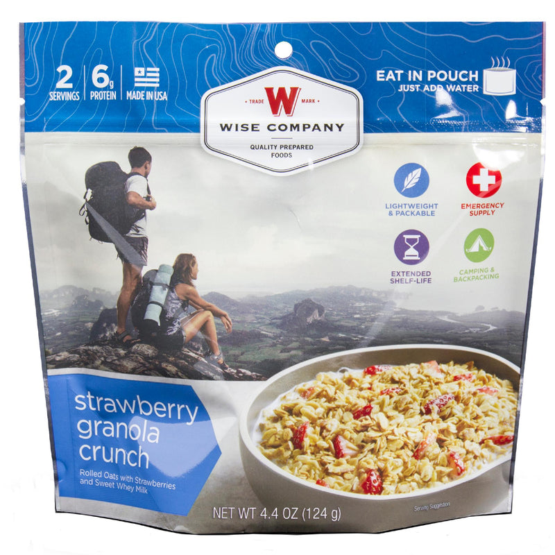 Wise Dessert Dish - Strawberry Granola Crunch, 2 Servings