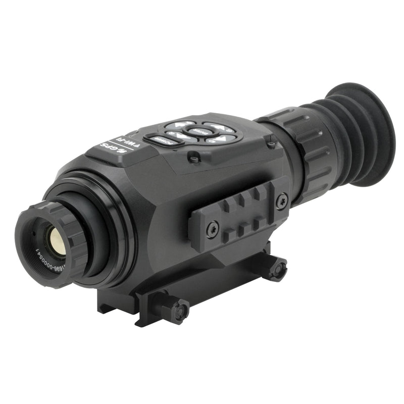 ThOR HD Thermal Rifle Scope - 1.25-5x, 19mm 384x288, HD Video Recording, Wi-Fi, GPS, Smooth Zoom, Matte Black